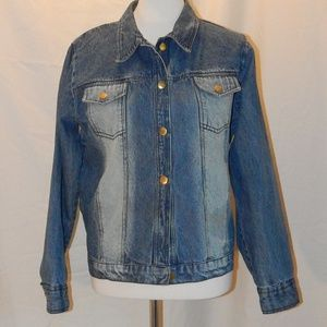 80s Plus Size, 1X, Vintage Denim Jacket